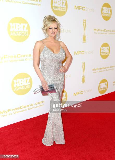 Stormy Daniels attends the XBIZ Awards 2020 on January 16, 2020 in Los Angeles, California.