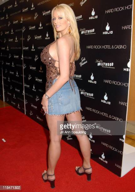 Stormy Daniels during Carmen Electra Hosts Star Studded Celebrity Charity Poker Tournament June 3 2006 at Hard Rock Hotel Casino in Las Vegas Nevada...