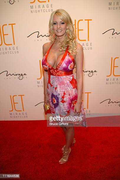 Stormy Daniels during Jet Nightclub 1st Year Anniversary Celebration at Jet Nightclub at The Mirage in Las Vegas Nevada United States
