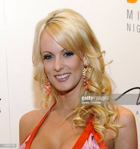 Stormy Daniels during JET Nightclub First Anniversary Celebration Red Carpet at The Mirage Hotel and Casino Resort at The Mirage Hotel and Casino...