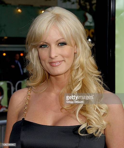 Stormy Daniels during 'Knocked Up' Los Angeles Premiere Arrivals at Mann Village Theatre in Westwood California United States