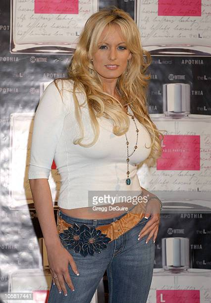 Stormy Daniels during Launch of 'L Eau de Parfum' Inspired by Showtime's 'The L Word' Arrivals at Apothia at Fred Segal Melrose in Los Angeles...