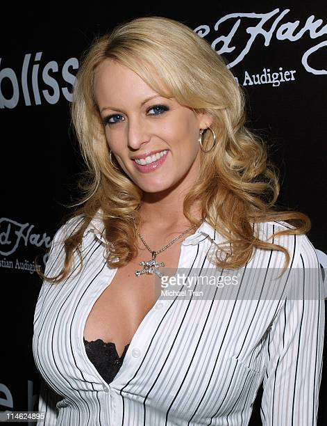 Stormy Daniels during 'The Bliss' Los Angeles Screening Arrivals at Cinespace in Hollywood California United States