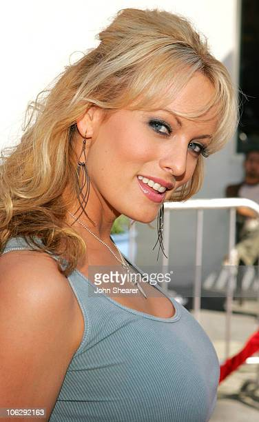 Stormy Daniels during 'The Fast and the Furious Tokyo Drift' Los Angeles Premiere Red Carpet at Universal Studios in Hollywood California United...
