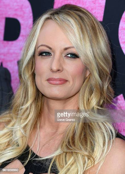 Stormy Daniels Fan Meet And Greet at Chi Chi LaRue's on May 23 2018 in West Hollywood California