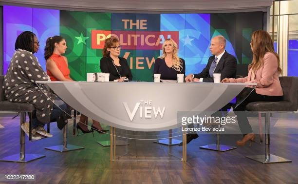 THE VIEW Stormy Daniels is joined by her attorney Michael Avenatti today Wednesday September 12 2018 on ABC's 'The View' 'The View' airs MondayFriday...