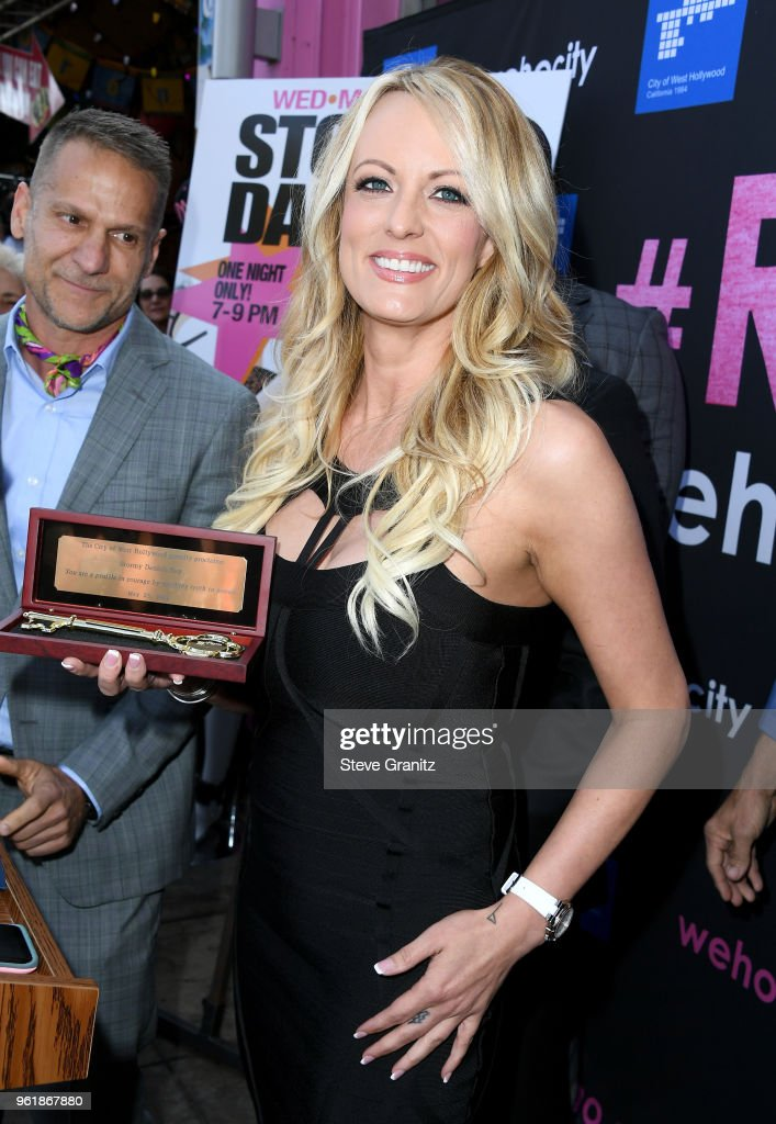 Stormy Daniels Receives A City Proclamation And Key To The City Of West Hollywood