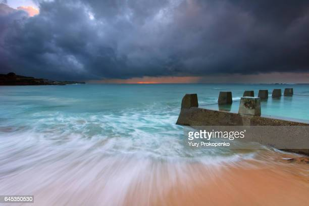 Stormy Morning at Coogee Beach
