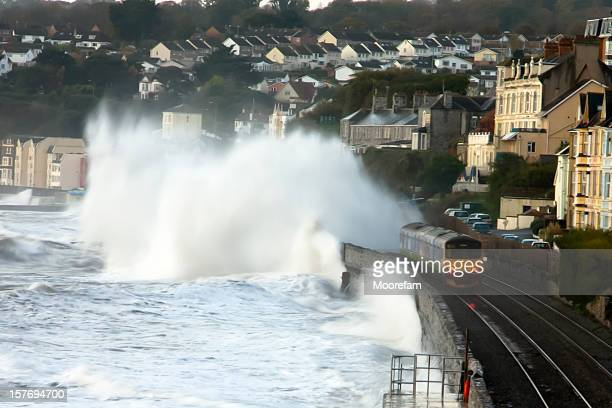 Stormy seas at Dawlish