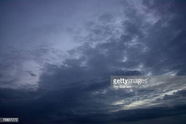 Stormy sky, Norfolk, England, United Kingdom