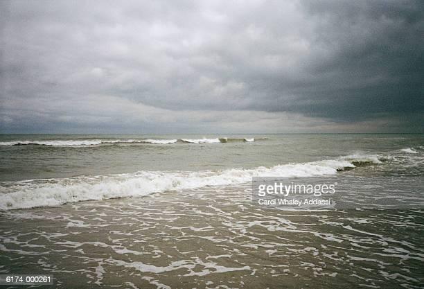 Stormy Sky Over Ocean