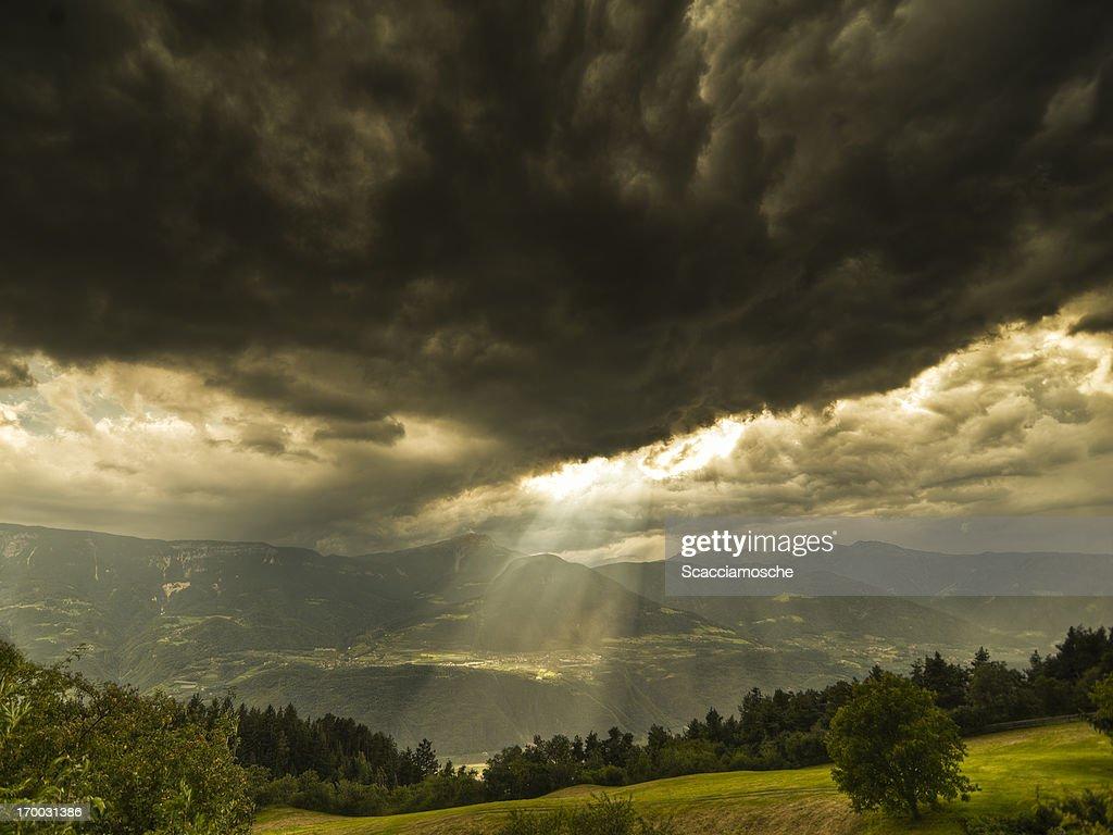 Stormy sky : Stock Photo