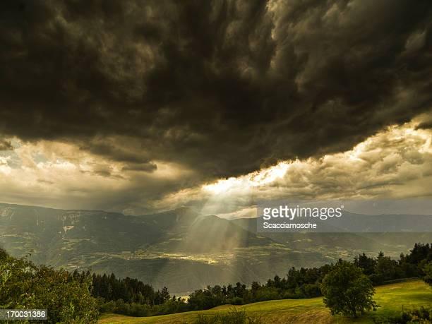 Stürmischen Himmel