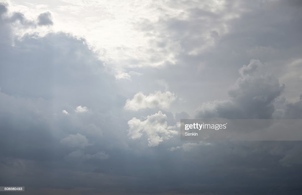stormy sky : Stock Photo