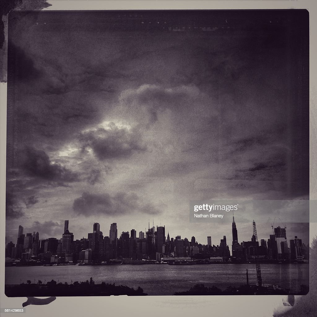 Stormy skyline : Stock Photo
