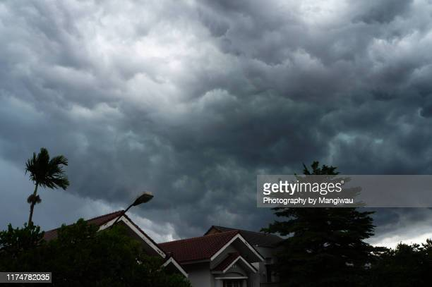 stormy weather - approaching stock pictures, royalty-free photos & images
