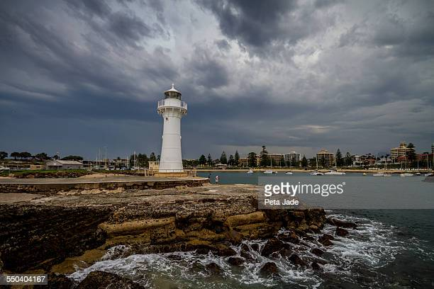 Stormy Wollongong Lighthouse
