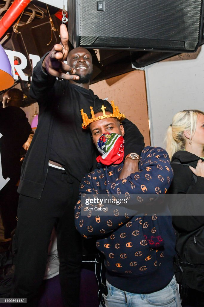 Stormzy And Dj Whoo Kid Attend The Stormzy Heavy Is The Head Album News Photo Getty Images