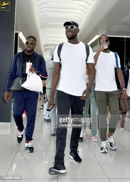 Stormzy at Stansted Airport as Spotify Premium throws the ultimate party in Spain for his 25th birthday on July 26 2018 in London England
