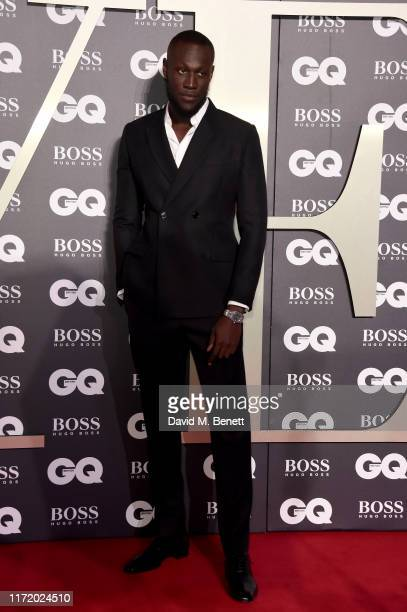 Stormzy attends GQ Men Of The Year Awards 2019 in association with HUGO BOSS at Tate Modern on September 03 2019 in London England