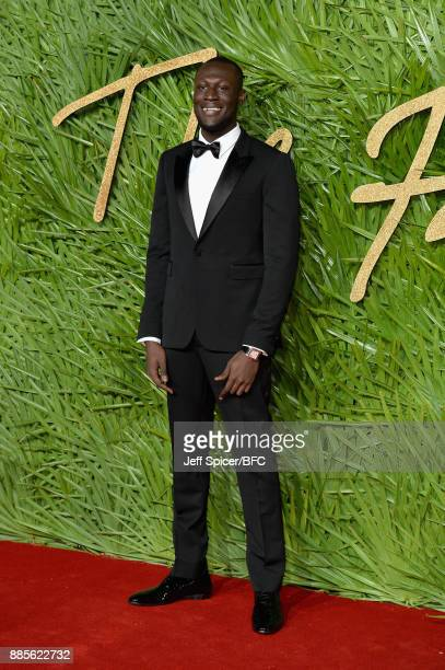 Stormzy attends The Fashion Awards 2017 in partnership with Swarovski at Royal Albert Hall on December 4 2017 in London England