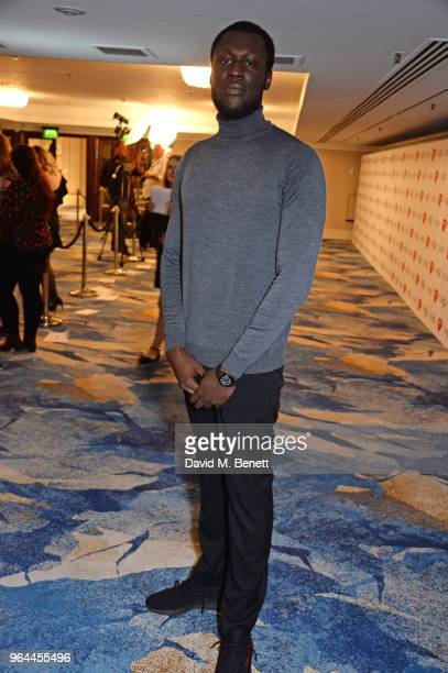 Stormzy attends the Ivor Novello Awards 2018 at Grosvenor House on May 31 2018 in London England