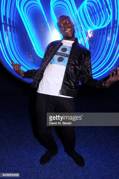 Stormzy attends The Warner Music Ciroc Brit Awards After Party on February 22 2017 in London England