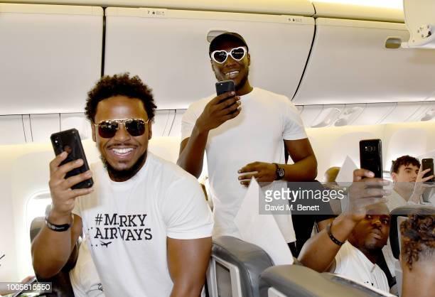 Stormzy on #MerkyAirways as Spotify Premium throws the ultimate party in Spain for his 25th birthday on July 26 2018 in Menorca Spain