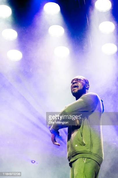 Stormzy performs at O2 Academy Brixton on November 1 2019 in London England
