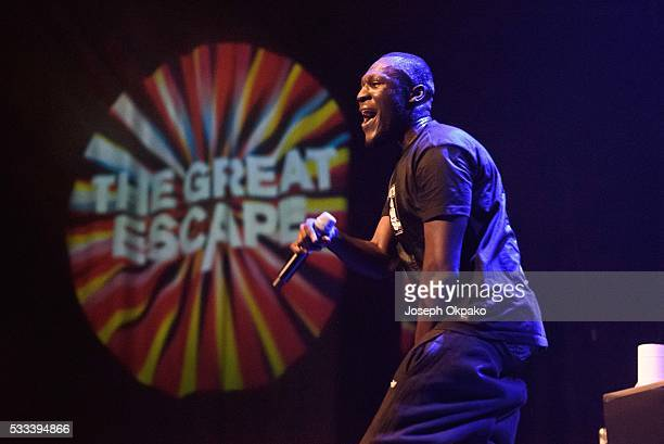 Stormzy performs on Day 3 of The Great Escape Festival on May 21 2016 in Brighton England