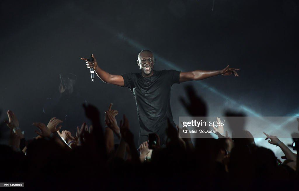 Stormzy Performs At Belfast Limelight