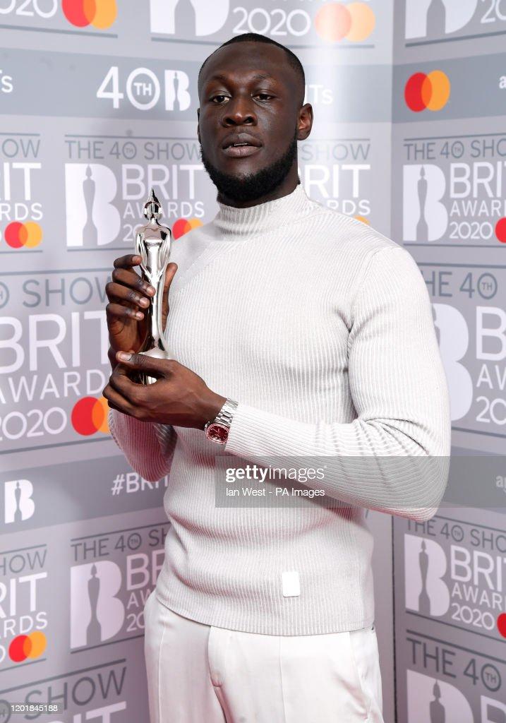 Brit Awards 2020 - Press Room - London : News Photo