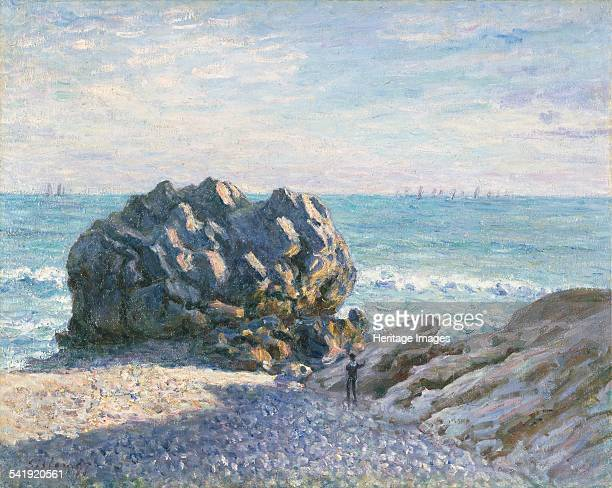 Storr's Rock Lady's Cove evening' 1897 Artist Alfred Sisley