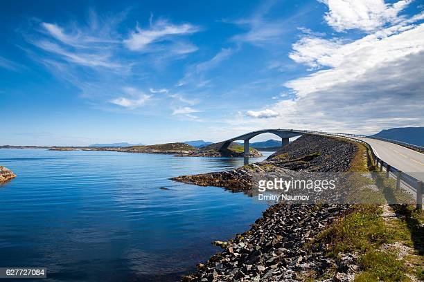 Storseisundet Bridge on the Atlantic Road in Norway