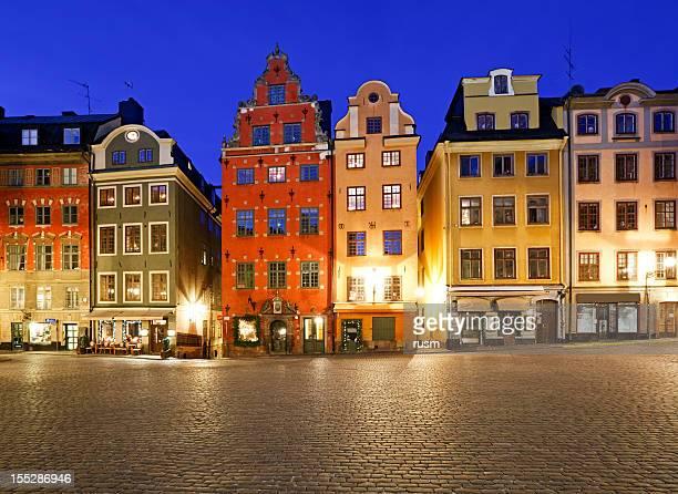 Stortorget at night, Stockholm, Sweden