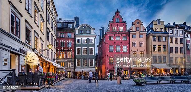 Stortorget, Gamla Stan, Stockholm, Sweden.