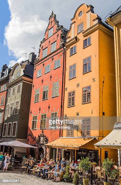 Stortorget in the old town in Stockholm