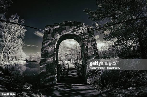 story city bridge, iowa - wpa stock pictures, royalty-free photos & images