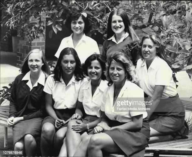 Story on careers and work experience programs for schoolsMaroubra Junction Girls' HighGroup shot back row Angel Malouf Larraine Llewellyn andBeverley...