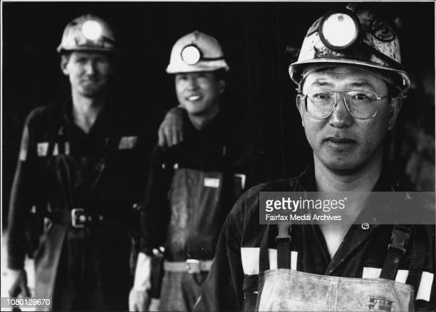 Story on spring vale mine at LithgowSamuel Vahn of the republic of Korea who is the underground operations manager of Springvale mine November 24 1993