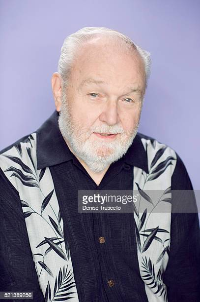 Storyboard artist Burny Mattinson poses for a portrait at the 2013 D23 Expo on August 6 2013 in Las Vegas Nevada