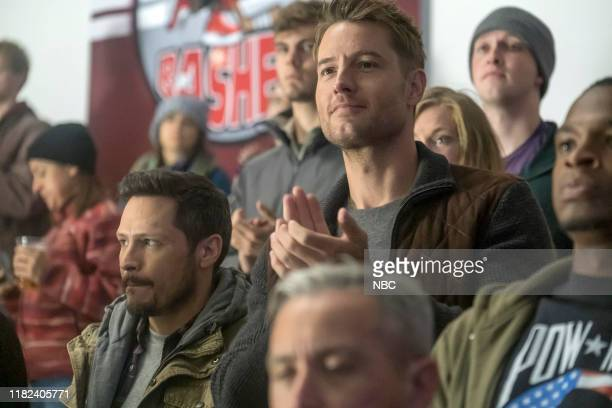 """Storybook Love"""" Episode 405 -- Pictured: Nick Wechsler as Ryan, Justin Hartley as Kevin --"""