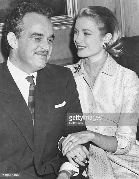 Storybook Romance Comes to Life. Philadelphia, Pennsylvania: Grace Kelly, who zoomed to prominence in films, and Prince Rainier III of Monaco,...