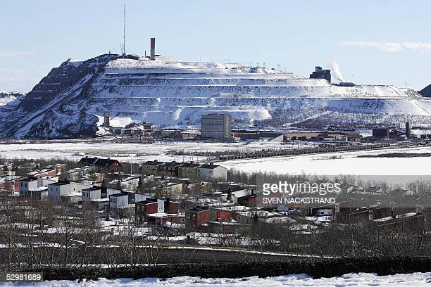 STORYLappland town moves its city centre to avoid that sinking feeling General view dated 18 May 2005 shows parts of the town of Kiruna that has to...