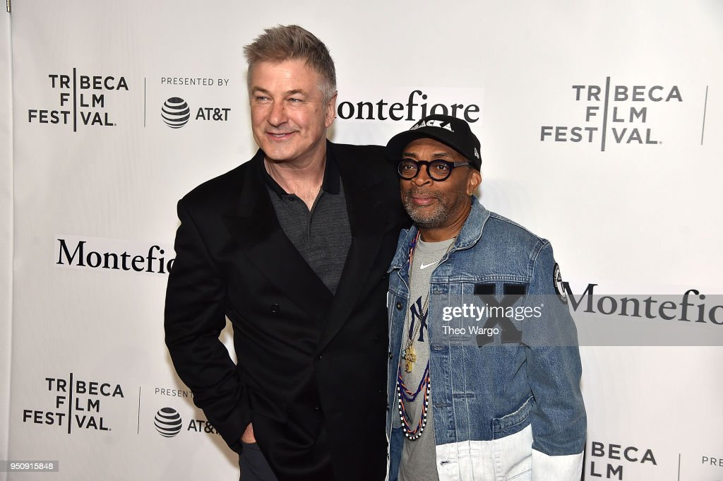 Storytellers: Alec Baldwin & Spike Lee - 2018 Tribeca Film Festival