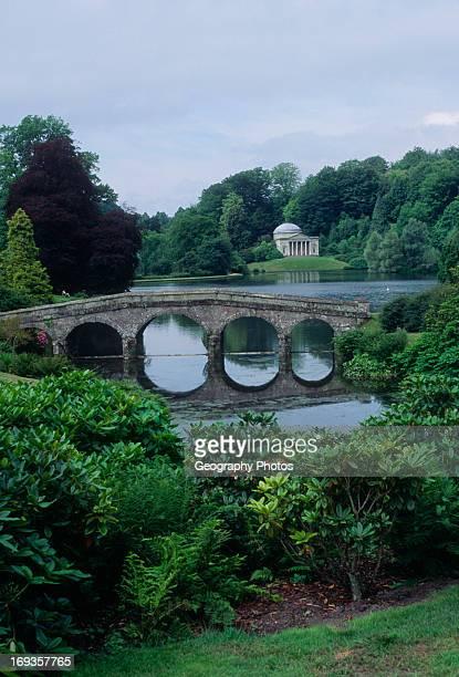 Stourhead gardens Wiltshire England