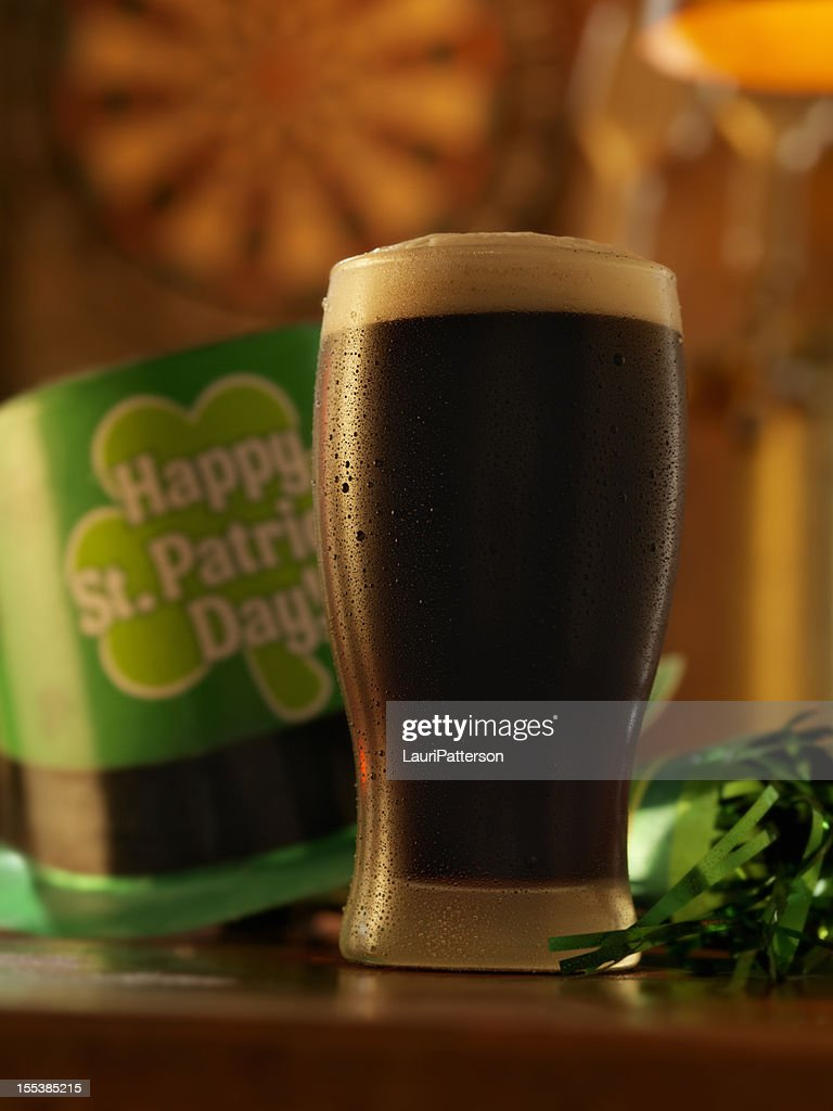 Stout for St. Patrick's Day : Stock Photo