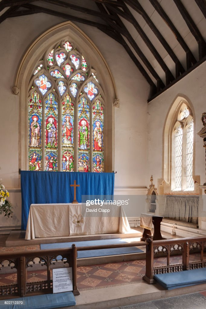 Stow On The Wold church, Cotswolds, Gloucestershire : Stock Photo