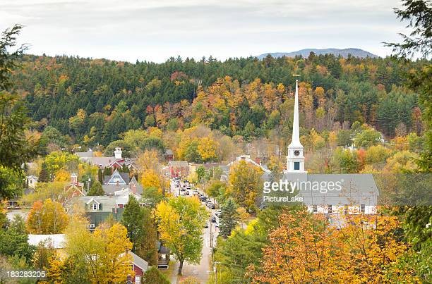 Stowe, Vermont aerial