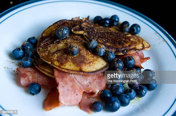 Washington DC DATE neg number 211440 CREDIT Sarah L Voisin CAPTION Jennifer Jeremias cq 27 of DC eats a Paleo diet She makes paleo pancakes and...